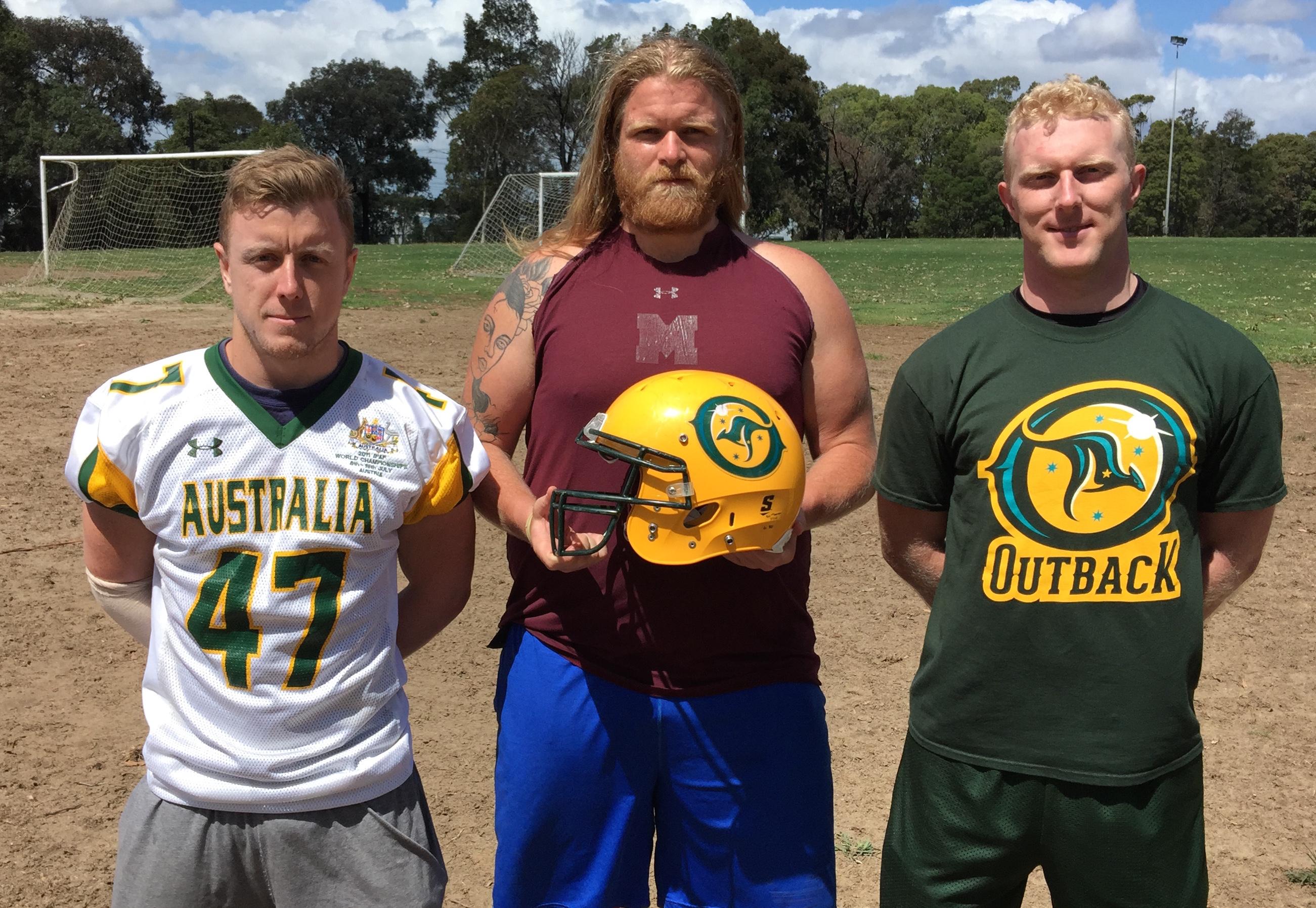 Warriors Scott Wolfe, Jon Tostevin & Luke Jackson will be playing for the Australian Outback National Team