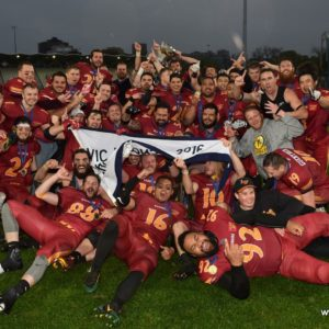 Warriors reclaim State Championship after Vic Bowl victory over Crusaders